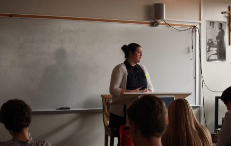 BSM alumnus speaks to Discipleship classes about volunteer work