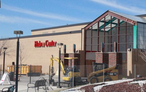 Haben Center under construction for new renovations