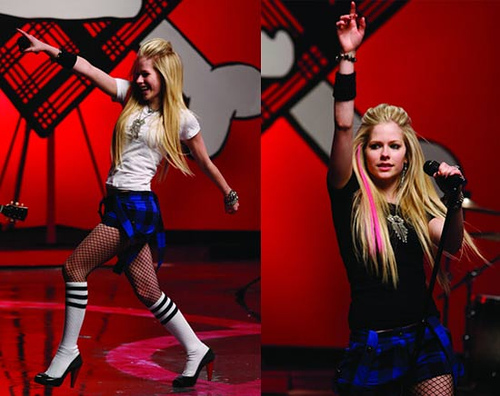 Avril Lavigne is an iconic artist from the past decade, and her music displays the joy of the 90's.