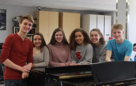 Choir and orchestra students participate in all state competition