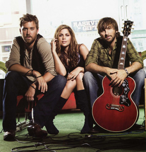 lady antebellum invades country scene