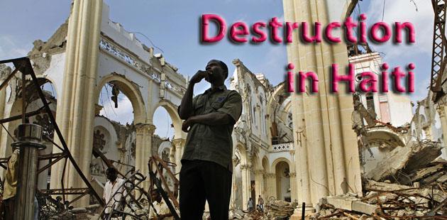WORLD NEWS HAITI-EARTHQUAKE 8 LA
