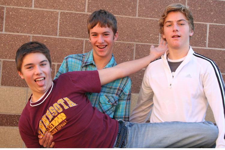 Junior triplets share few similarities