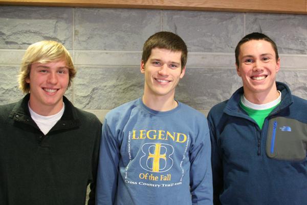 Elite juniors take role as swim team captains