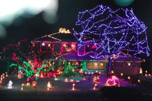Bright lights create Christmas cheer