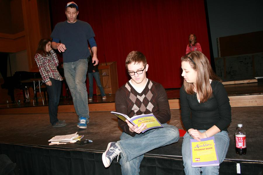 Students direct junior high play
