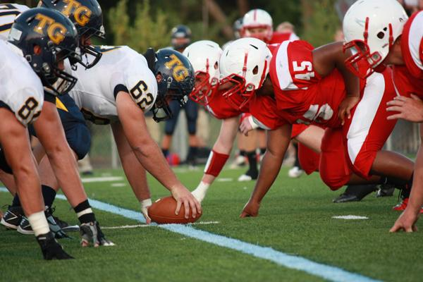 Football team has difficult home opener against Totino-Grace