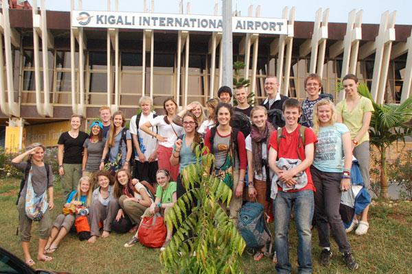 Twenty students spend two weeks in Rwanda
