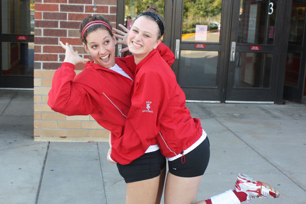 Junior volleyball captains take charge