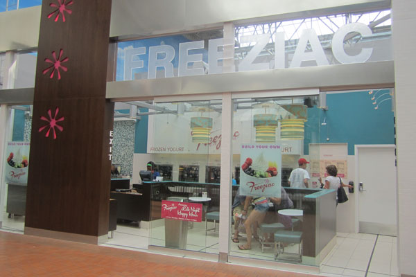 Cool down and pay up at Freeziac