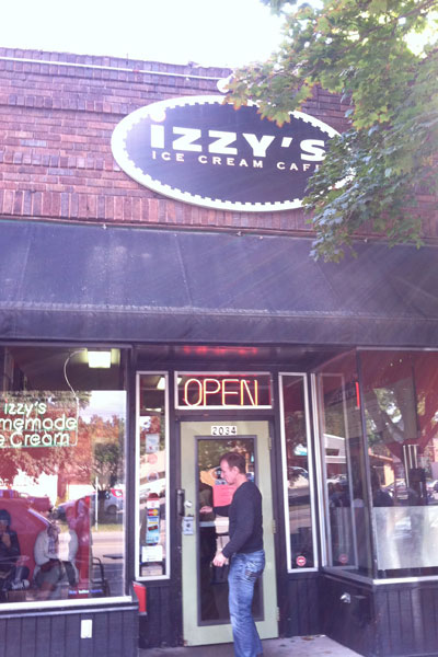 Izzy's ice cream supports local farmers