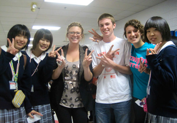Japanese students visit BSM