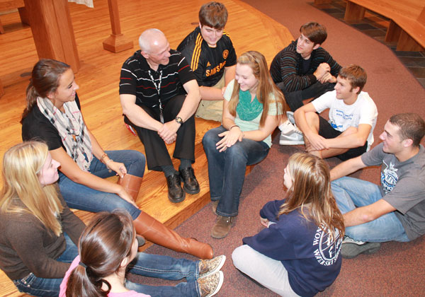 Peer ministry lights the torch for a new year