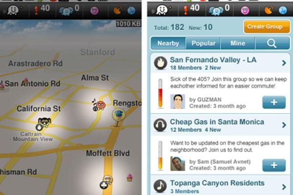 Waze App Knows Where You Are