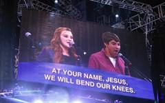 Students sing their faith at NCYC