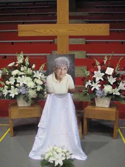In remembrance of Doris Christensen, staff member