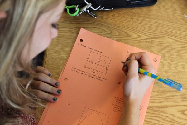 Math league counts on success