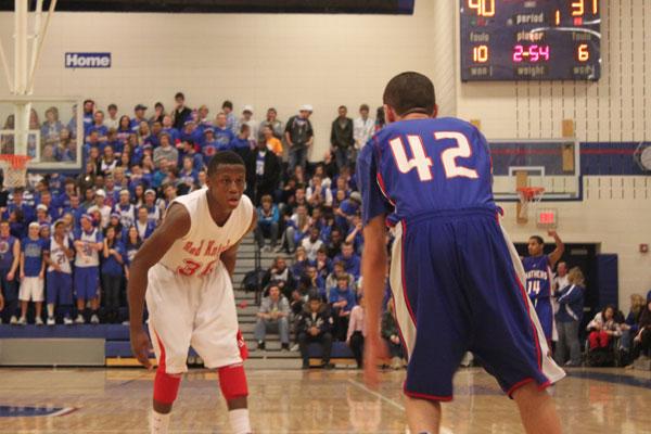 Lumpkins layup helps boys basketball avoid upset