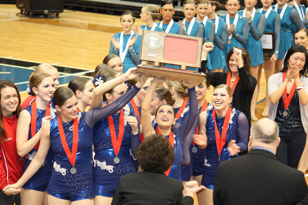 Knightettes take second at State