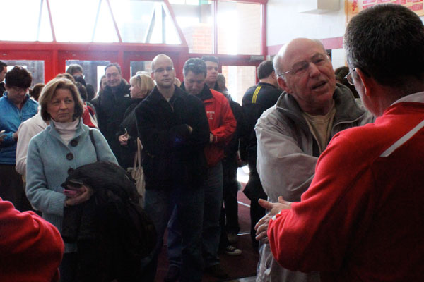 Parents mob the Haben eager for hockey tickets
