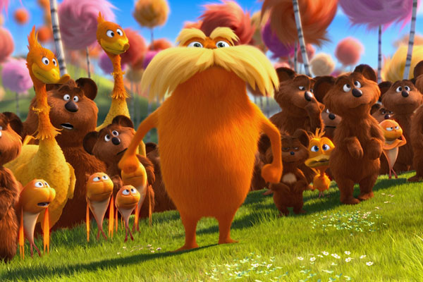 Efron and Swift star in The Lorax
