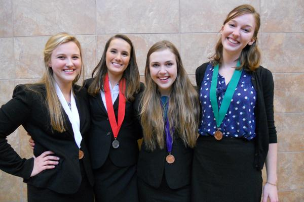 Four speech members place at State tournament