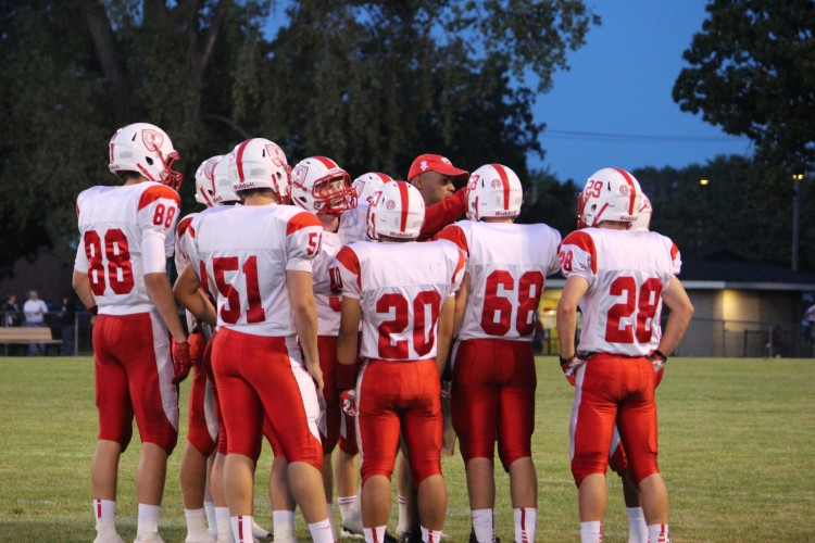 Red Knights lose to Fridley Tigers in first away game