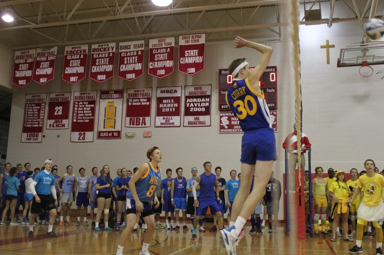Class of 2013 wins boys' volleyball for the second time