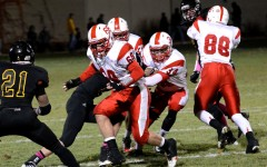 Senior running back Garrett Haughey ran for two of the Red Knights four touchdowns against number one ranked DeLaSalle.