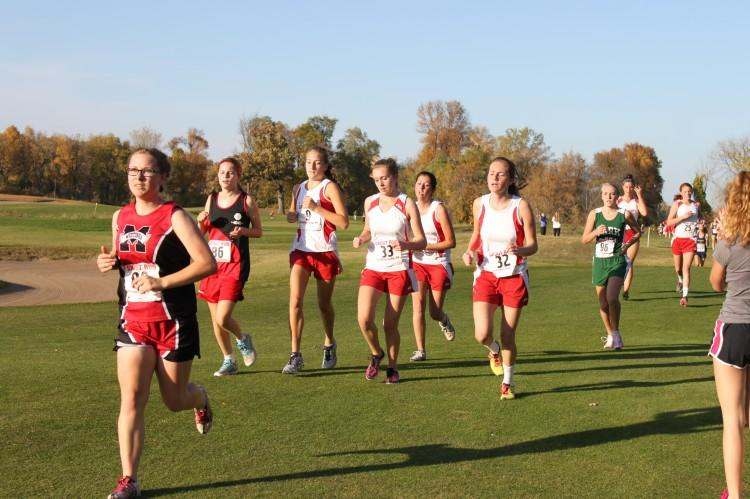 The Benilde Cross Country teams ran in Mankato this week in one of the final races of the year. Amanda Kautzer took home first place in girls varsity.