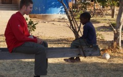 Sophomore Jon Cadle spent part of his summer volunteering in Tanzania: distributing supplies to villages and schools, and immersing himself in the local culture.