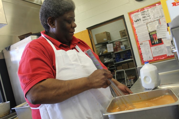 Sarah shows her love for comfort food, cooking for the BSM community as she does for her family.