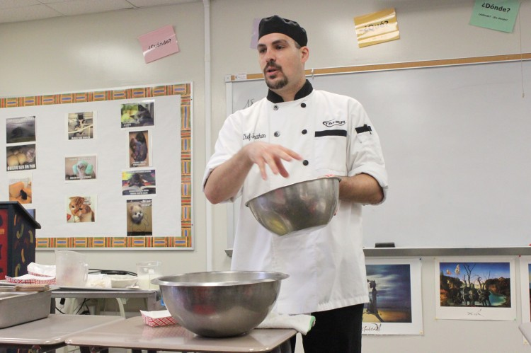 Chef+Jonathan+Barnes+spent+his+last+day+at+BSM+on+Friday%2C+Dec.+12.+He+will+start+the+new+year+in+a+new+position+at+Minnehaha+Academy.+