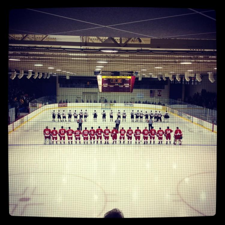 Boys' hockey beat Moorhead 6-1 on the road to start their season.
