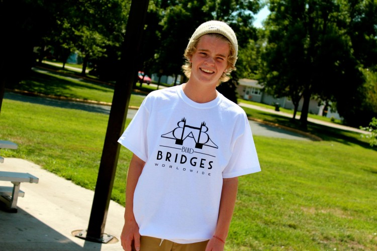 Senior Conrad Schmidt founded his own t-shirt company, experiencing the early success of entrepreneurship along with two of his classmates.