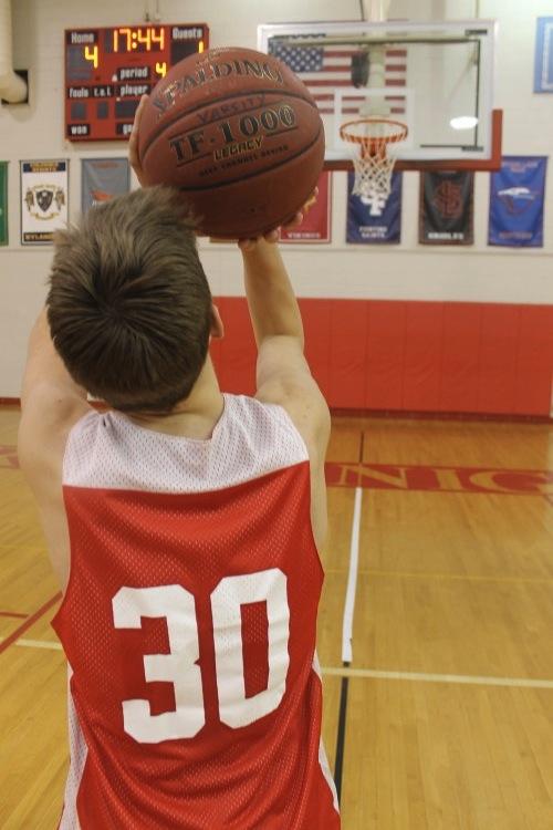 Senior Sam Hafermann is the team's shooting guard this season. (chris bell)