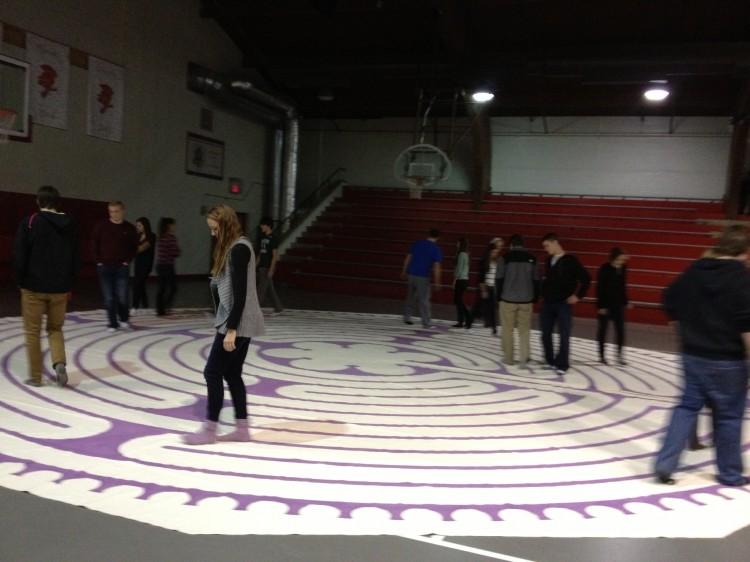 Labyrinth offers students alternate form of meditation