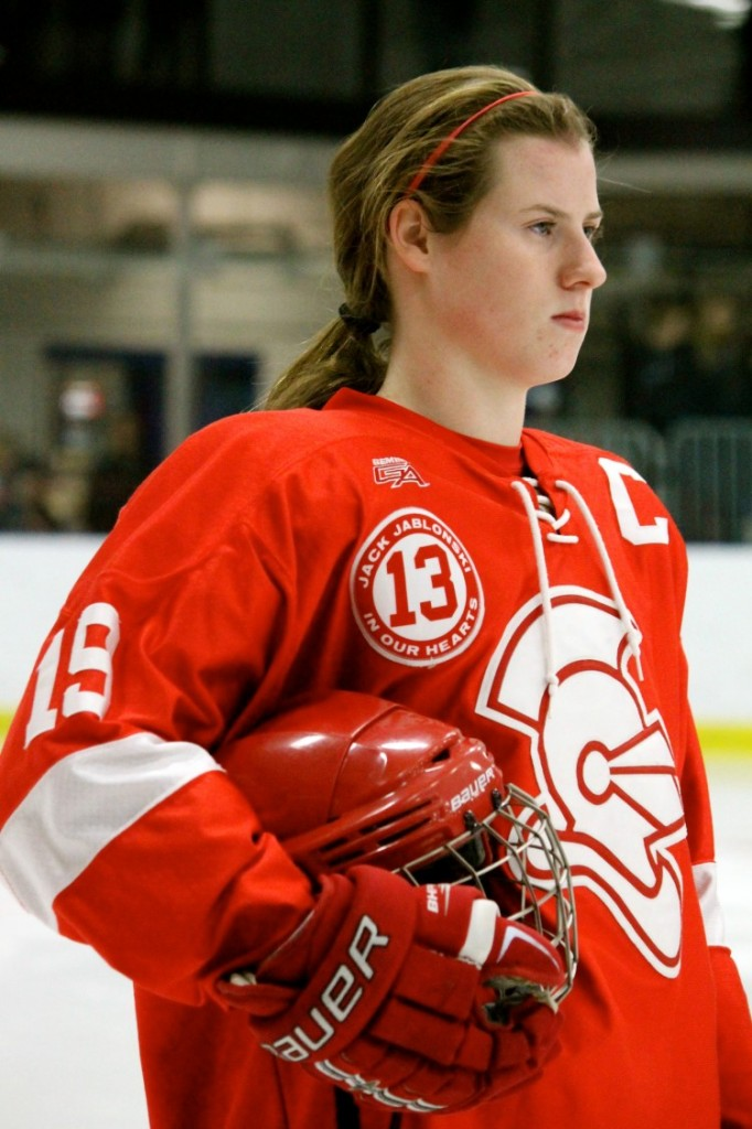 As a junior, Pannek has already served as captain for the BSM girls hockey team for two seasons.