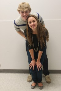 Katie Sisk and Mikey Koller