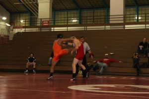 Wrestling team gains prominence amongst winter sports