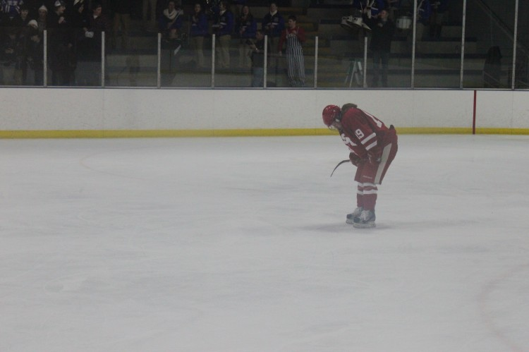 Junior Captain Kelly Pannek and her teammates found themselves defeated again by the Minnetonka Skippers in the section final game on Friday, Feb. 15.
