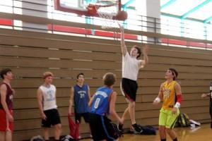 Senior Jake Sherman goes for a lay-up. (Carson Mark)