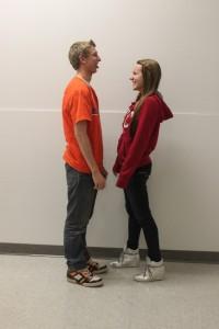 Nate Germscheid and Megan Keefe