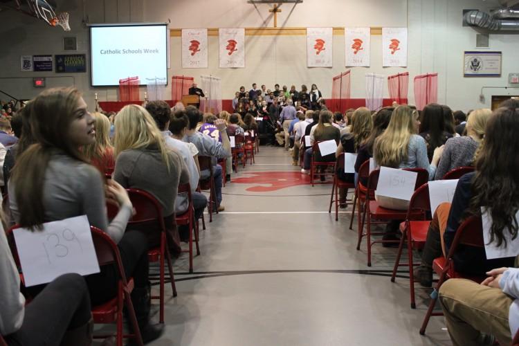 Around 7,000 Catholic schools celebrated Catholic Schools' Week in the United States.