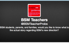 An anonymous account working under the handle @BSMTeacherProbs popped up in light of budget cuts taking place this week.