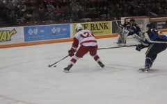 Senior forward Grant Besse, now 2013's Mr. Hockey, has been intimidating opposing goaltenders since he first stepped on the ice as a Red Knight freshman.