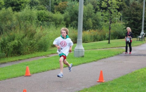 Despite dreary weather, 148 individuals turned up for the Jabby 5K event.