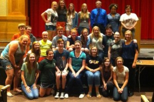 Members of Students for Human Life and the cast of Dead Man Walking were in attendance.