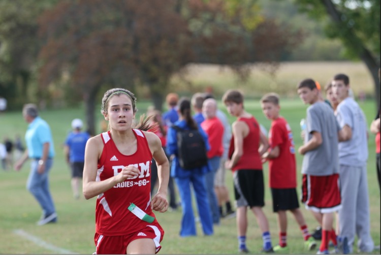In her first year running cross-country, Fullerton became the first BSM runner since 2004-2005 to reach the state tournament.