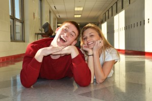 seniors Andrea and Mikey